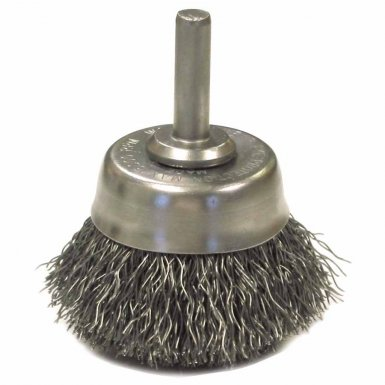 Anderson Brush 6641 Crimped Wire Cup Brushes-NH Series-Hollow End