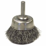 Anderson Brush 6651 Crimped Wire Cup Brushes-NH Series-Hollow End