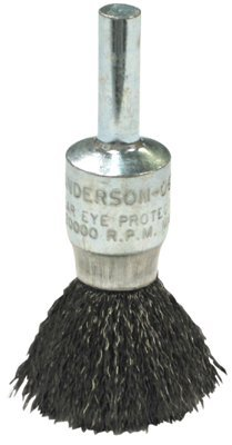 Anderson Brush 7111 Crimped Wire Solid End Brushes-NS Series