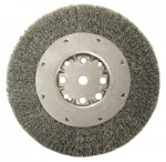 Anderson Brush 2134 DMX Series Medium Face Crimped Wire Wheels
