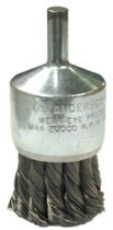 Anderson Brush 12101 Knot Wire End Brushes-NH Series-Hollow End-Swaged Cup