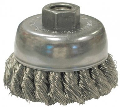 Anderson Brush 17165 Knot Wire Cup Brushes For Small Angle Grinders-US & USC Series