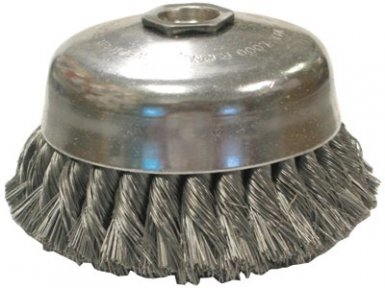 Anderson Brush 17445 Knot Wire Cup Brushes-Single Row-US Series
