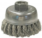 Anderson Brush 17590 Knot Wire Cup Brushes For Small Angle Grinders-US & USC Series
