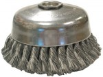 Anderson Brush 18425 Knot Wire Cup Brushes-Single Row-US Series