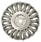 Anderson Brush 13523 Medium Face Standard Twist Knot Wire Wheels-TS & TSX Series