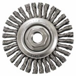 Anderson Brush 11215 Stringer Bead Knot Wire Wheels-STCM Series-Very Narrow Face