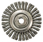 Anderson Brush 12355 Stringer Bead Knot Wire Wheels-STCM Series-Very Narrow Face