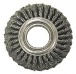 Anderson Brush 14884 Wide Face Standard Twist Knot Wire Wheels-TW Series-Carbon Steel