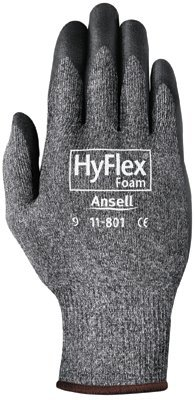 Ansell 205676 HyFlex Foam Gray Gloves