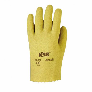 Ansell 203939 KSR Multi-Purpose Vinyl-Coated Gloves