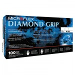Ansell MF-300-S Microflex Diamond Grip Disposable Gloves