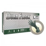 Ansell 769799608094 Microflex Dura Flock DFK-608 Disposable Nitrile Gloves
