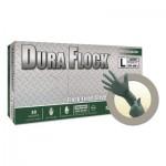 Ansell 769799608001 Microflex Dura Flock DFK-608 Disposable Nitrile Gloves