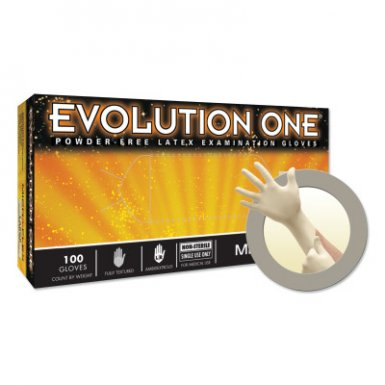 Ansell 769799205095 Microflex Evolution One EV-2050 Latex Exam Gloves