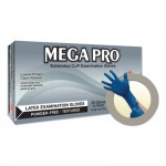 Ansell 683438528539 Microflex MegaPro L85 Latex Exam Gloves