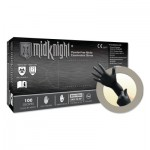 Ansell 769799296086 Microflex MidKnight MK-296 Nitrile Exam Gloves