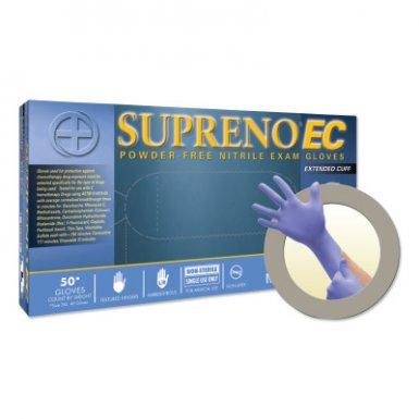 Ansell 769799032530 Microflex Supreno EC SEC-375 Nitrile Exam Gloves