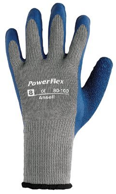 Ansell 80-100-6 PowerFlex Gloves