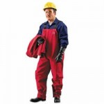 Ansell 66-662-L Sawyer-Tower CPC Polyester Bib Overalls