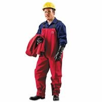 Ansell 66-662-XL Sawyer-Tower CPC Polyester Bib Overalls