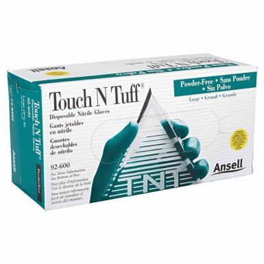 Ansell 585836 Touch N Tuff Disposable Gloves