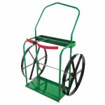 Anthony 24-24 High-Rail Frame Dual-Cylinder Cart