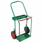 Anthony 41-10 High-Rail Frame Dual-Cylinder Cart