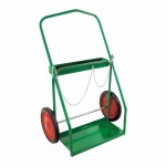 Anthony 42049 Low-Rail Frame Dual-Cylinder Cart