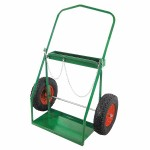 Anthony 42782 Low-Rail Frame Dual-Cylinder Cart