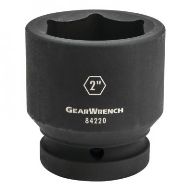 Apex 84222 1 in Drive 6 Point Standard Impact Metric Sockets