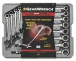Apex 85888 12 Pc. XL X-Beam Combination Ratcheting Wrench Sets