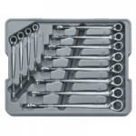 Apex 85388 12 Pc. XL X-Beam Reversible Combination Ratcheting Wrench Set
