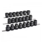 Apex 84973 22 Pc. 6 Point Standard Impact Metric Socket Sets