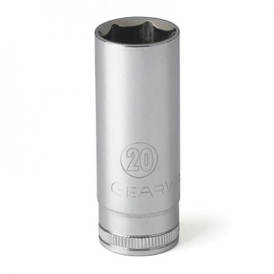 Apex 80406 3/8 in Drive 6 and 12 Point Metric Deep Length Sockets
