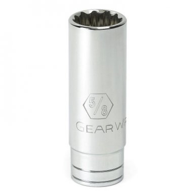 Apex 80509 3/8 in Drive 6 and 12 Point SAE Deep Length Sockets