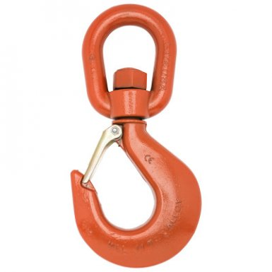 Apex 3952415PL #7 Alloy Latched Swivel Hoist Hooks