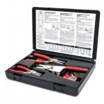 Apex 68-079G Armstrong Interchangeable Tip Convertible Retaining Ring Plier Sets with Tips