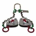 Apex 6410301 Campbell Drum Chain Sling Clamps