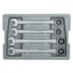 Apex 9413 Combination Ratcheting Wrench Sets