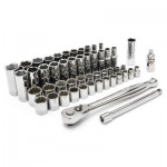 "Apex CSWS10N Crescent 52 Piece 3/8"" Drive Standard & Deep Socket Sets"