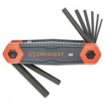 Apex CHKFM8 Crescent Folding Hex Key Sets