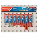 Apex Crescent Mixed Slip Joint and Solid Joint Pliers Displays 181-CF3