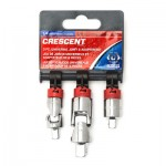 Apex CDTA14N Crescent Universal Joint and Adapter Sets