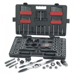 Apex 82812 GearWrench 114 Piece Combination Ratcheting Tap and Die Drive Tool Sets