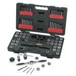 Apex 3887 GearWrench 75 Piece Combination Ratcheting Tap and Die Drive Tool Sets