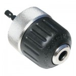 Apex 31248 Jacobs Keyless Chuck with Hex Bit Adapters