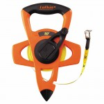 Apex FE050D Lufkin Hi-Viz Orange Reel Fiberglass Tapes