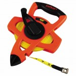 Apex FE100 Lufkin Hi-Viz Orange Reel Fiberglass Tapes