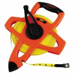 Apex FE200 Lufkin Hi-Viz Orange Reel Fiberglass Tapes